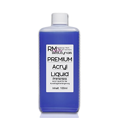 100ml Acryl Liquid Flüssigkeit -Primerless- für Nageldesign in Studio Qualität