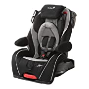 Designed to be a constant travel companion as your child grows, this Safety 1st car seat supports 5 to 35 pounds rear-facing, 22 to 50 pounds forward-facing, and 40 to 100 pounds as a belt-positioning booster. Easily adjust the height from the front ...