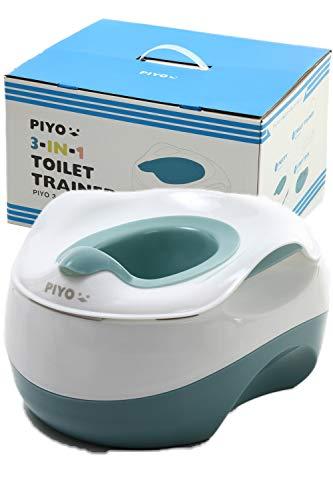 ピヨ(PIYO) おまる 3way 補助便座 踏み台 子供 子ども ステップ台 幼児 こども トイレ おしゃれ 人気 かわ...