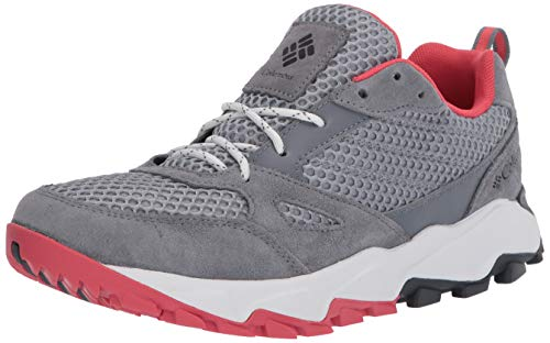 Columbia Women's IVO Trail Breeze Hiking Shoe, Earl Grey/Juicy, 9 Regular US
