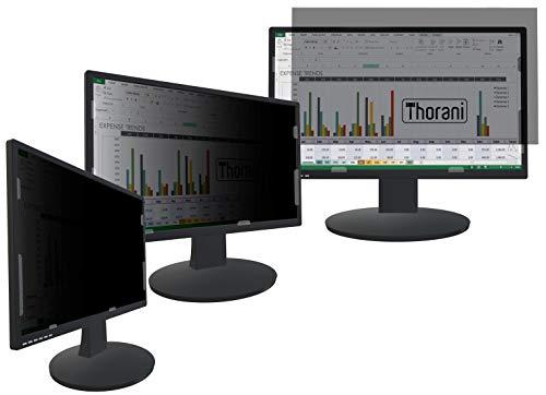 Thorani Desktop Privacy Filter, Blickschutzfolie für PC-Monitor, gewährt Premium Sichtschutz - 24 Zoll, 16:9