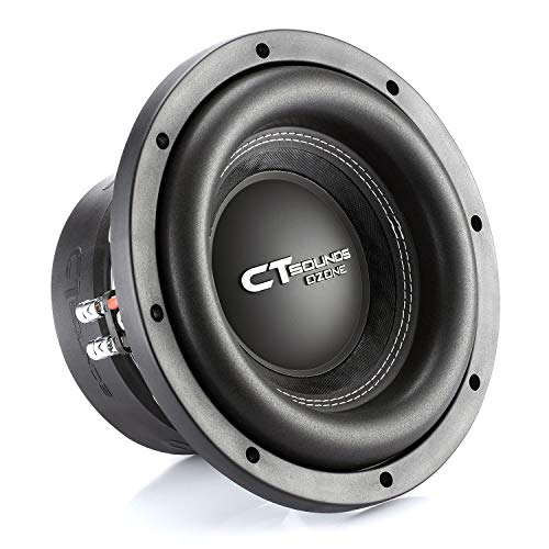 CT Sounds OZONE-10-D2 1600 Watt Max Power Dual 2 Ohm 10in Car Subwoofer