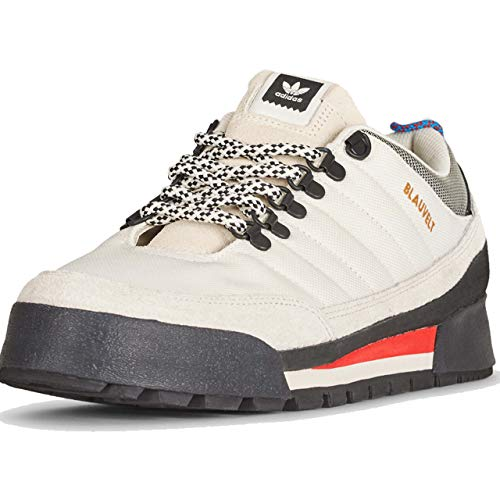 adidas Herren Jake Boot 2.0 Low Skateboardschuhe, Weiß (Off White/raw White/core Black Off White/raw White/core Black), 42 2/3 EU