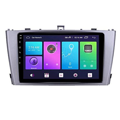 FDGBCF Estéreo de Coche Navegación GPS, Android Car Stereo Sat Nav para Toyota Avensis 2009-2015 Sistema de Unidad Principal SWC 4G WiFi BT USB Mirror Link Carplay Integrado