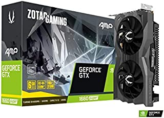 ZOTAC GAMING GeForce GTX 1660 SUPER AMP GeForce GTX 1660 SUPER搭載ビデオカード ZT-1660S-6G-AMP/ZT-T16620D-10M