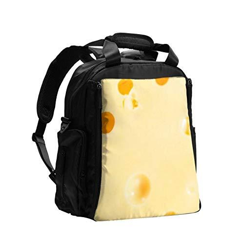 ラージスライスセミチーズ 大容量おむつバッグバックパック多機能ママお父さんバッグベビーケアバッグおむつバッグ看護バッグ