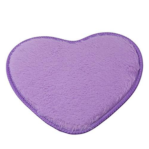 Aiasiry Love Carpet Alfombra Mullida para Dormitorio De Niñas Zapatillas De Felpa...
