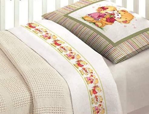 Idée cadeau Super offre : Parure de lit complète en impression numérique amis Lit Ours Baby ob bébé fille