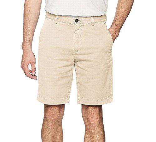 Brooks Brothers Herren Shorts 100079278, Elfenbein (Natural), W33