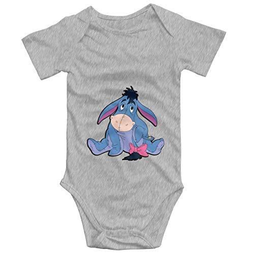 WlQshop Strampler Infant Donkey Piglet Winnie Pooh Eeyore Kurzarm Strampler für Jungen Mädchen