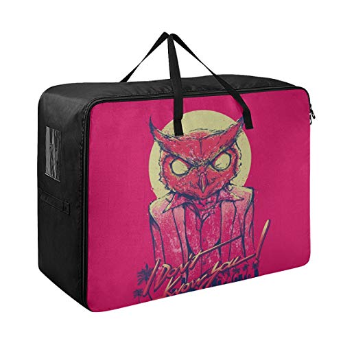 Storage For Under The Bed Hotline Miami Rasmus Art Mask Owl Minimalism 98193 Clothing Closet Organizer 70 X 50 X 28 Cm Quilt Bedspread Pillow Luggage Moving Tote Garment Closet Storage Organizer
