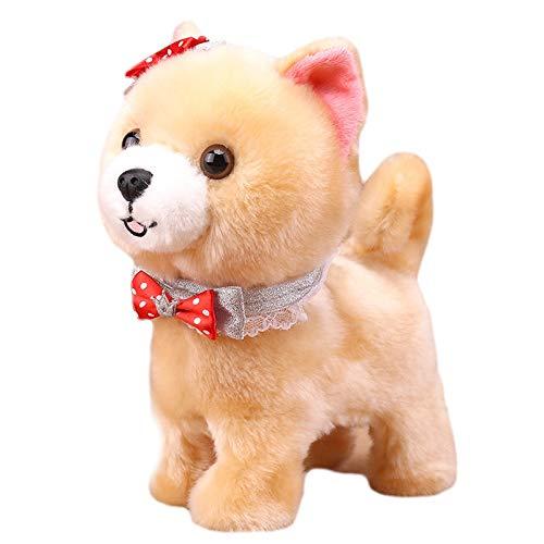 Luyfsxb Stofftier Roboter Hunde Talk Walk Bark Toy Interaktiver Hund Elektronisches Spielzeug Sound Control Plüsch Haustier Hundespielzeug Für Kinder...