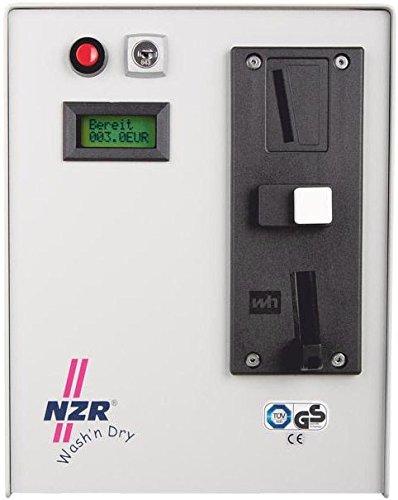 NZR Münzzähler ZMZ0215WashnDry1Euro m.Türentr.Schütz+Tür Münzautomat 4048652005406