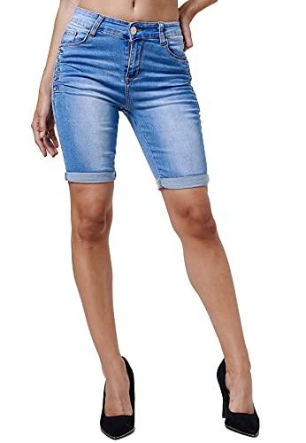 Egomaxx -   Damen Kurze Jeans