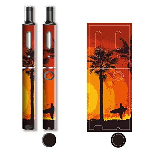 電子たばこ タバコ 煙草 喫煙具 専用スキンシール 対応機種 プルーム テック プラス Ploom TECH+ Ploom Tech Plus California (カリフォルニア) イメージデザイン 02 California (カリフォルニア) 01