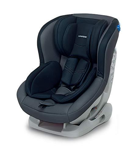 Foppapedretti Mydrive Seggiolino Auto, Gruppo 0/1 (0-18kg), per Bambini dalla Nascita Fino a 4 Anni Circa, Antracite