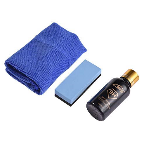 Car Plastic Parts Refurbish Agent - Reparador multiusos para coche (con esponja y toalla)