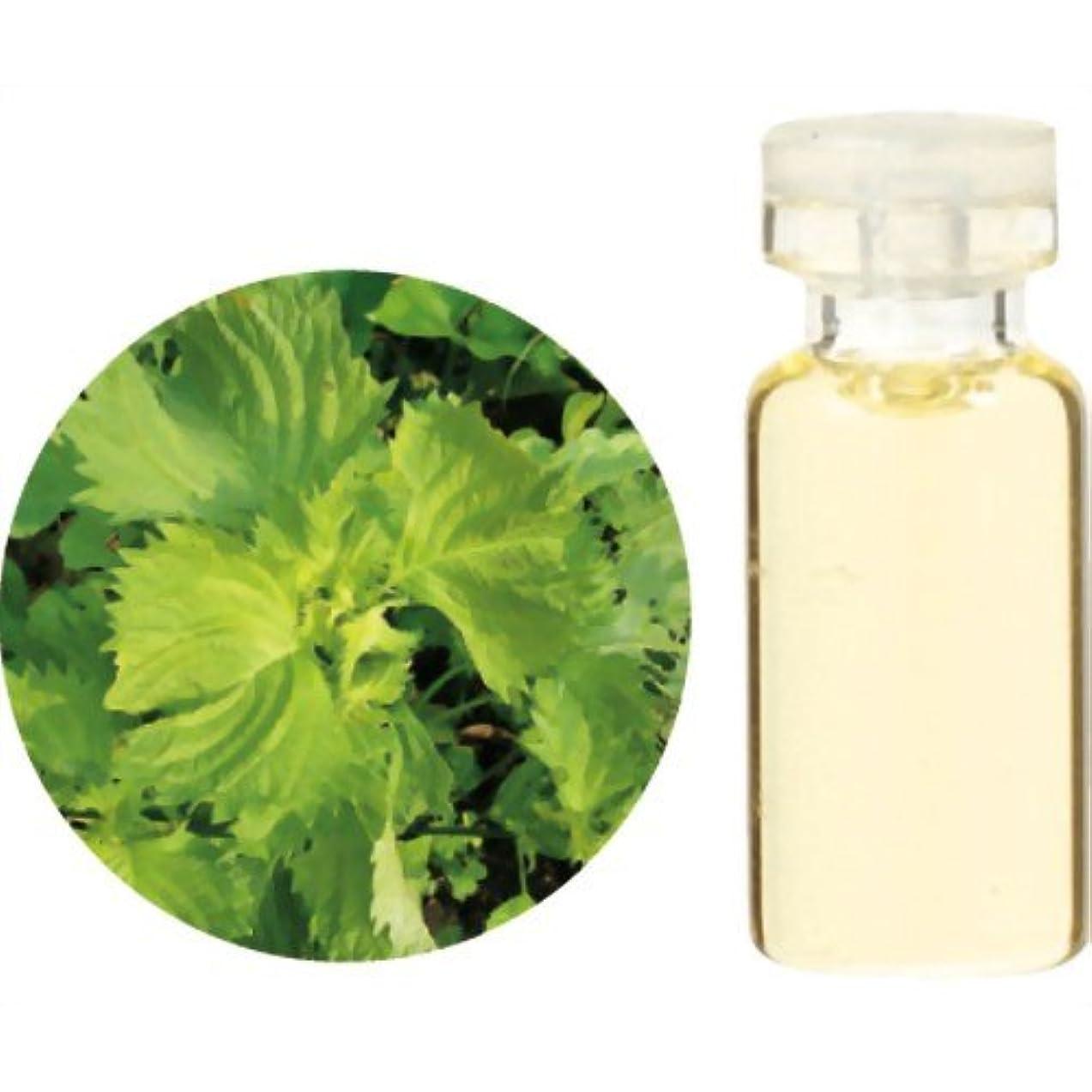 結核改修するマンモス生活の木 Herbal Life 和精油 紫蘇 1ml