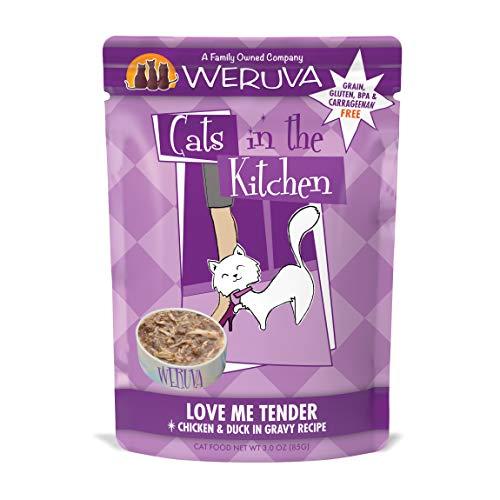 Comida para Gatos Cats in the Kitchen Love Me Tender Pollo y Pato receta sin cereales Weruva