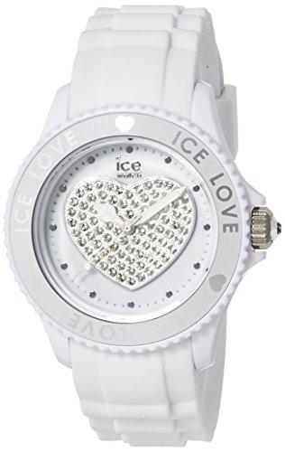 Ice-Watch Ice-Love Swarovski Unisex Watch LOWEUS10 (B003A6NZM6 ...