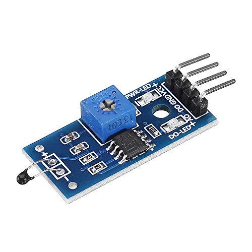 Modulo electronico Térmica del módulo del sensor Interruptor de temperatura del termistor del circuito de sensores Geekcreit for A-r-d-u-i-n-o - productos que funcionan con placas A-r-d-u-i-n-o oficia