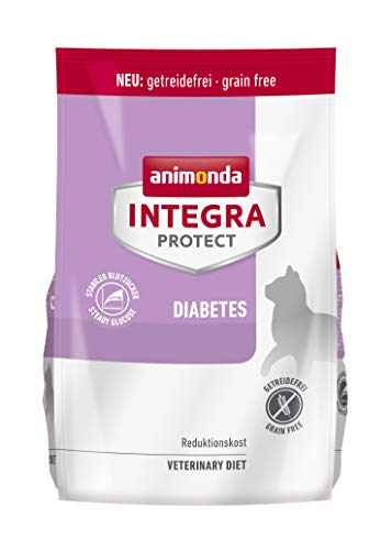 animonda Integra Protect Diabetes Katze, Diät Katzenfutter, Trockenfutter bei Diabetes mellitus, 1,2 kg