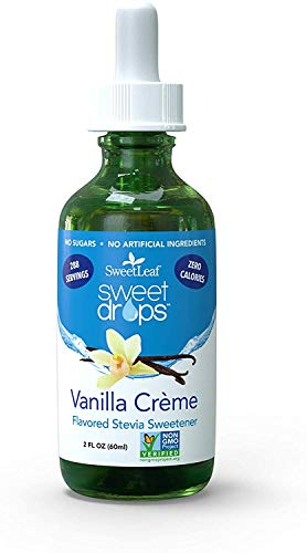 SweetLeaf Sweet Drops Liquid Stevia Sweetener, Vanilla Creme, 2 Ounce