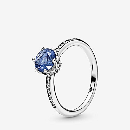 Pandora Damen-Solitär Freundschaftsring 925_Sterling_Silber mit '- Ringgröße 54 198289NSWB-54