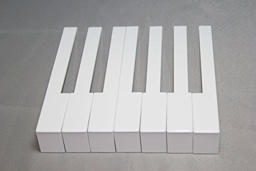 German Piano Keytops - Piano Key Replacement - Complete Set with Fronts