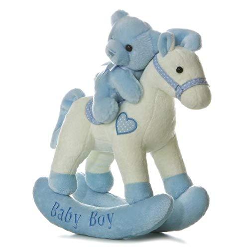 ebba - Comfy (ebba) - 12' Baby Boy Rocking Horse Musical