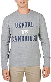 قميص رياضي رجالي من Oxford University بلون رمادي