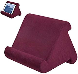 Aptech Tablet Pillow Stand for iPad, Multi Angle Soft Pillow Pad Phone Pillow Lap Stand, Universal Reading Tablet Stand Pi...