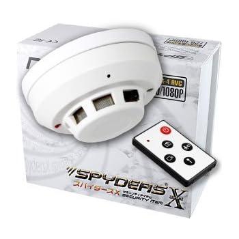 スパイダーズX 火災報知器型カメラ 小型カメラ スパイカメラ (M-910)