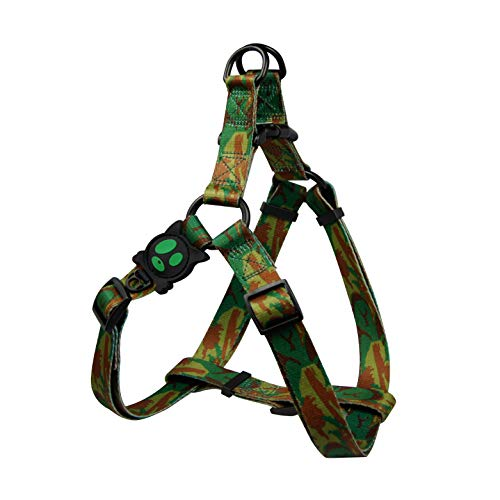 DOCO LOCO Step-in Dog Harness - Colorful Designs, Comfort Fit, Good for Training and Walking - (Small, Camouflage)