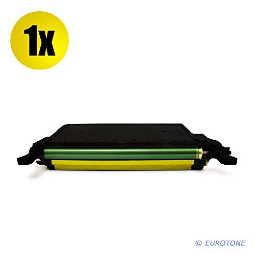 Eurotone Toner Yellow XXL für Samsung CLP-620 ND NDK + CLP-670 N ND NDK NK + CLX 6220 6250 FX - Premium Altenative Gelb XL