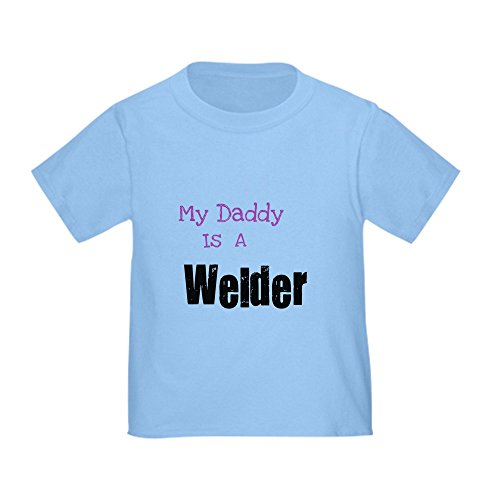 Southern Industrial Keep Calm My Daddy is a Welder T-Shirt