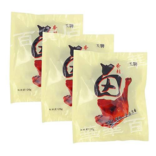 王牌鴨腿【3点セット】 辛口 味付け鴨肉 骨付き鴨モモ肉 中華食材 冷凍食品