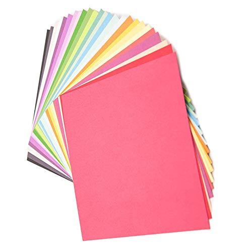 SAMZO Origami de colores surtidos de papel para dibujar dibujo de tarjetas coloreadas