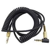 Xingsiyue Cable Alambre Línea para Marshall Monitor/Major II 2/Major III 3/Mid BT 3.5mm Enchufe Macho a Macho Audio Aux Cordón
