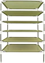 Smile Bud 27x27 Inch 6-Layer Sweater Drying Rack Stackable Clothes Dry Net Rack