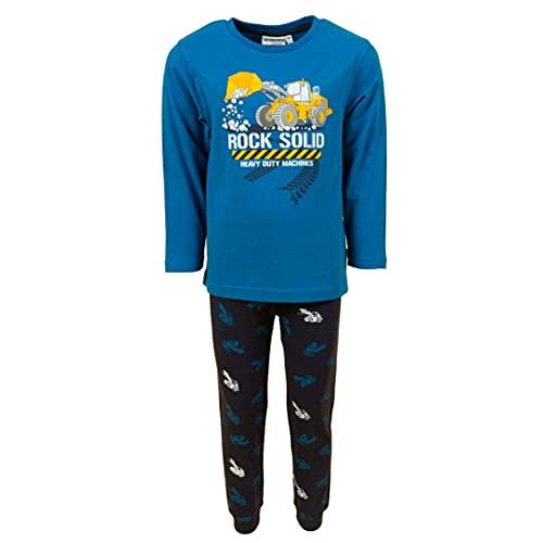 SALT AND PEPPER Jungen Pyjama Builder Rock Solid Arctic Blue 15162792 (128)