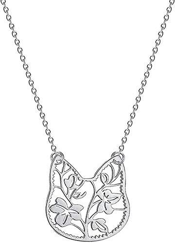 Collar Collar de acero inoxidable con colgante de joyería de mujer de galaxia de fase lunar con esmalte lunar con disparo de regalo dorado