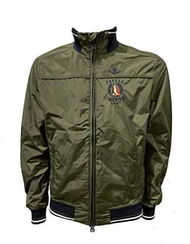 Aeronautica Militare AB1718 - Chaqueta para hombre, color verde militar verde militar XXXL