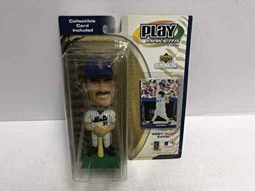 Mike Piazza 2001 New York Mets Play Makers Bobblehead Bobble with great bobbing action!