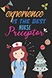 Nurse Preceptor Gifts for Women Lined Composition Notebook | Christmas Gifts for Nursing Preceptor: Nurse Preceptor Gifts Thank You & Nurse Practitioner Preceptor Gifts | Best Preceptor Gifts Nursing