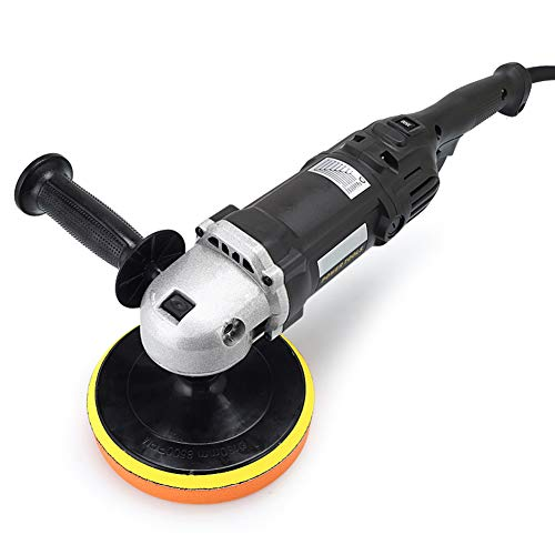 DOOK Car Polisher with Polishing Pads Waxing Kit 8 Variable Speed 0-3500 RPM, Detachable Handle, Ideal for Car Sanding, Polishing, Waxing, Sealing Glaze