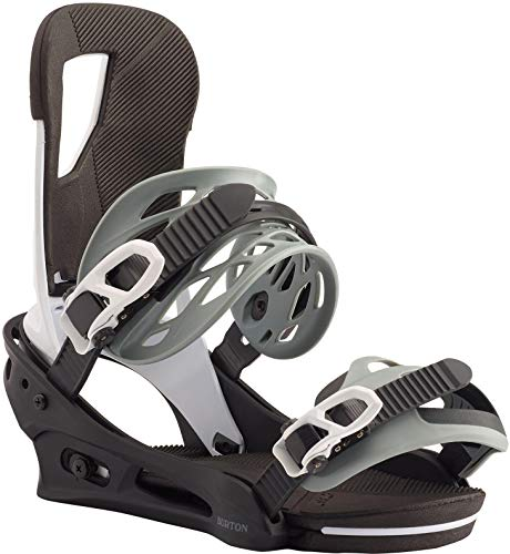 Burton Cartel Snowboard Bindings Mens Sz M (8-11) Black/White
