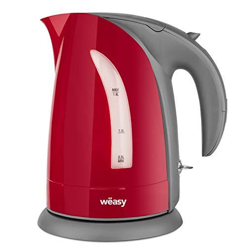 Winkel Wëasy SW8 Hervidor Eléctrico Pequeño, 2200 W, Capacidad de 1.8 litros,...