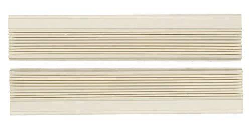 1 Pair Window Air Conditioner Side Curtains Screen Accordion L&R (Haier AC-6100-73)
