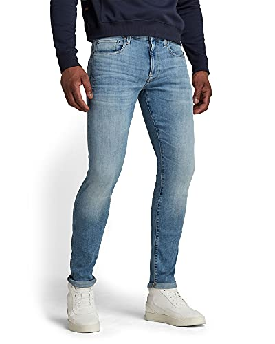 G-STAR RAW Revend Skinny Jeans, 3D Dark Aged 7101-2967, 30W / 32L Uomo